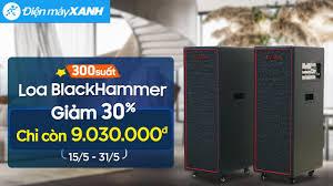 Loa điện BlackHammer: thương hiệu Hàn Quốc, chất âm xịn (BH-410) • Điện máy  XANH - YouTube