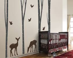 36 baby room wall decal large owl birds birch tree wall decal sticker baby room nursery mcnettimages com