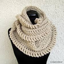 infinity scarf crochet. ravelry: circle infinity scarf unique design pattern by lyubava crochet t