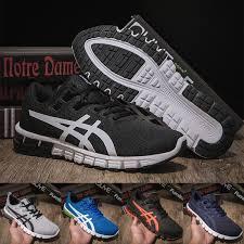 2019 Asics New Arrivals Gel Quantum 90 Running Shoes Fashion Men Designer Sneaker Black Dark Blue Top Quality Sport Shoes Size 40 45 From Wegosport