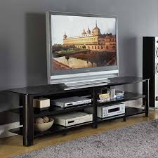 View A Larger Image Of The Innovex Oxford Series 82 Inch Flat Screen TV  Stand  Black 65 Tv Stand71