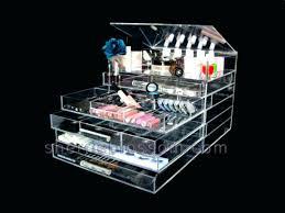large makeup organizer large cosmetic organizer with regard to acrylic makeup drawers plans