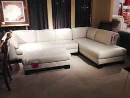 macys leather sectional sofa stacey leather 6 piece modular sectional