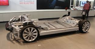 tesla electric car motor. Tesla\u0027s Skateboard Chassis Houses The Battery Low For Better Center Of Gravity And Increased Passenger Compartment Tesla Electric Car Motor