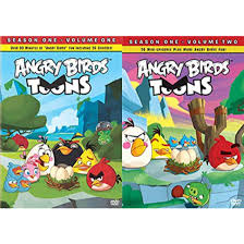 Amazon.com: Angry Birds Toon Season 1 DVD Bundle - Angry Birds TOONS  (Season 1 Vol 1) & Angry Birds Toons (Season 1 Vol 2): Movies & TV