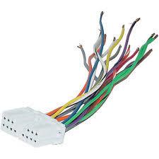 mitsubishi wiring harness ebay Mitsubishi Wiring Harness mitsubishi chrysler plugs into factory radio car stereo cd player wiring harness (fits mitsubishi mitsubishi wiring harness connectors