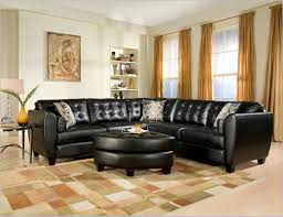 Of Sectionals In Living Rooms Leather Sectional Furniture Brown Living Room With Craftmaster
