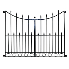 metal fence gate. Contemporary Metal No Dig Grand Empire Steel Decorative Metal Fence Gate Inside A