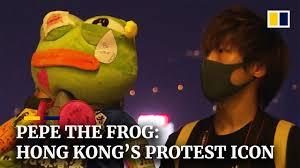 <b>Pepe the Frog</b>: Hong Kong's protest icon - YouTube