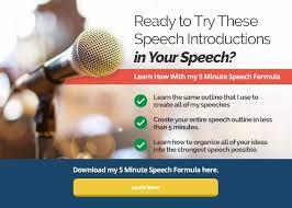 ways to start a speech bonus tips public speaking banner
