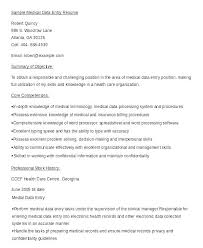 Data Entry Resume Enchanting Medical Data Entry Resume Nmdnconference Example Resume And