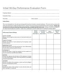 Review Employee New Employee Review Template 28106480476 Employee