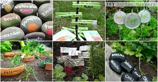 25 diy garden markers to organize and beautify your garden diy crafts