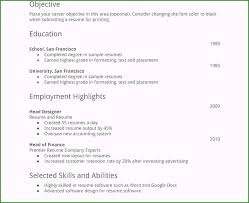 Resume Builder Free Online No Sign Up Affordable Free Resume