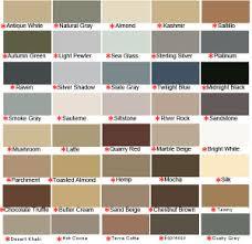 Almond Color Chart Latex Colored Caulk Laticrete Color Line