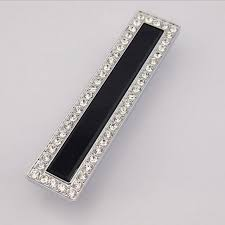 black glass cabinet pulls. 128mm Fashion Deluxe Glass Diamond Modern Furniture Handles Black Drawer Cabinet Pull 5\ Pulls D