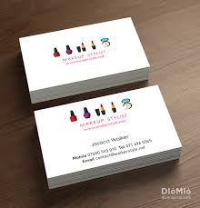 colors printable hairstylist and makeup artist business cards with high definition inspirational creative yellow iration