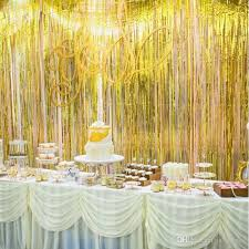 new colorful ribbon wedding birthday party backdrop centerpieces decoration wall layout tassels for event supplies holiday party decorations