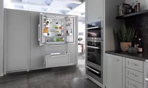 french door refrigerator in kitchen. Miele USA Debuts New PerfectCool French Door Refrigerator In Kitchen D