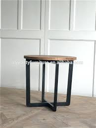 metal bar stool legs with round wooden stools for australia