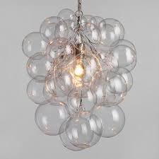 bubble glass orb chandelier world market inside prepare 0