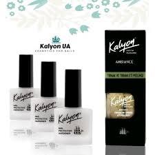 "Набор Kalyon ""Три лечебных лака + <b>Скраб для ногтей</b>"""