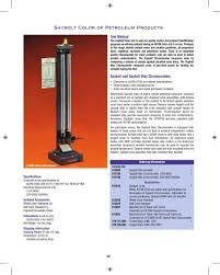 Astm Color Chart Page 51 Of Koehler Product Catalogue For Oil Gas