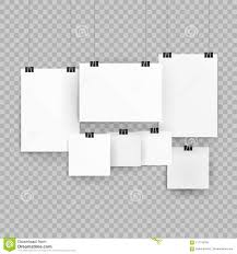 Paper Frames Templates Frames Or Poster Templates Isolated On Transparent