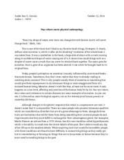 harry potter essay arabel joie g arevalo anthro wfw harry  3 pages pop culture meets anthro