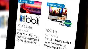 Wal Mart Customers Still Want Tvs After Black Friday Pricing Error