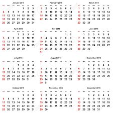 Calendar June July 2015 12 Months Of The Annual Calendar 2015 Year Stock Photo Picture