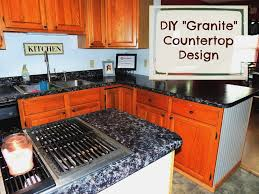do you have those countertops that just don t match your kitchen at all and are an eye sore well that was my kitchen before i decided to paint my own