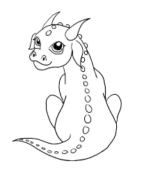 Dragon Coloring Pages Realistic Baby Dragon Coloring Pages Free