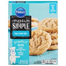 pillsbury sugar cookies. Perfect Sugar Pillsbury Purely Simple Sugar Cookie Mix Intended Pillsbury Cookies O
