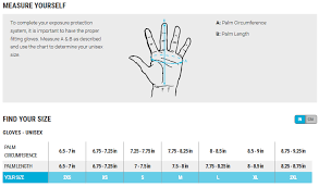 Dive Glove Size Chart 73 All Inclusive Mares Hood Size Chart