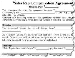 Sales Commissions Template Sales Commission Plans Templates Rome Fontanacountryinn Com