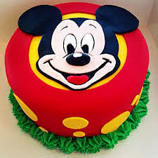 Fabulous Mickey Mouse Cake 1kg Black Forest Gift Mickey Mouse 3d