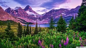 Beautiful Mountain and Lake HD ...