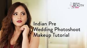 indian pre wedding photoshoot makeup tutorial ft aayushi bangur nykaa you
