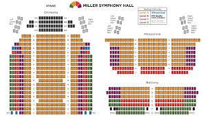 Printable Van Wezel Seating Chart Kravis Center Seating Chart Chicago The Musical Sarasota