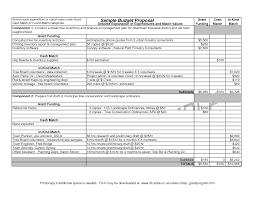 Sample Budget Proposal Best Photos Of Sample Budget Proposal Template Sample Grant 2