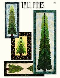 Tall Pines Wall-Hanging/Table Runner Pattern by Irish Chain (QJ5) 047 & Click to enlarge Adamdwight.com
