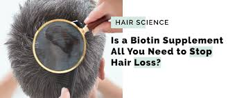 are biotin supplements enough for