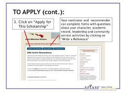 "introduction to the gates millennium scholars program click on ""gms application"" 8"