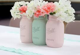 How To Decorate Mason Jars How To Paint Mason Jars Love of Family Home 18