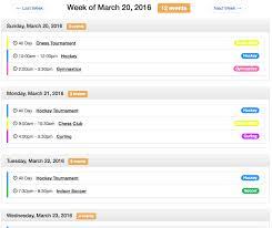 Ee Calendar 3 X Week Tag Solspace Documentation