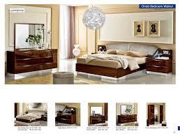 modern italian bedroom furniture. Plain Modern Onda Walnut  Camelgroup Italy Modern Bedrooms By ESF Furniture Inside Italian Bedroom E