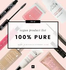 in addition to makeup 100 pure also has a growing line of natural skin care and hair s