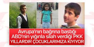 Terör örgütü PKK'nın çocuk kurbanları