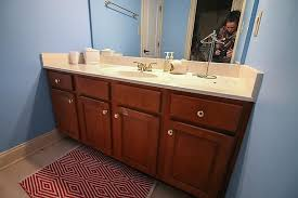 Refurbishing Bathroom Cabinets Refinishing Vanity Restoration  Hardware Sink Restoration Hardware Sink R12